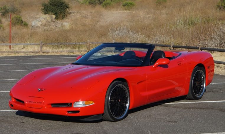 2002 Chevrolet Corvette Convertible Exterior, Johnston Motorsports