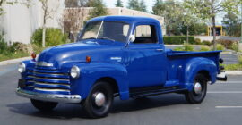 Bright Blue 1950 Chevrolet 3100 - Sold at Johnston Motorsports