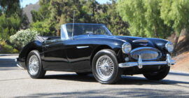 Black 1965 Austin Healey 3000 MkIII BJ8