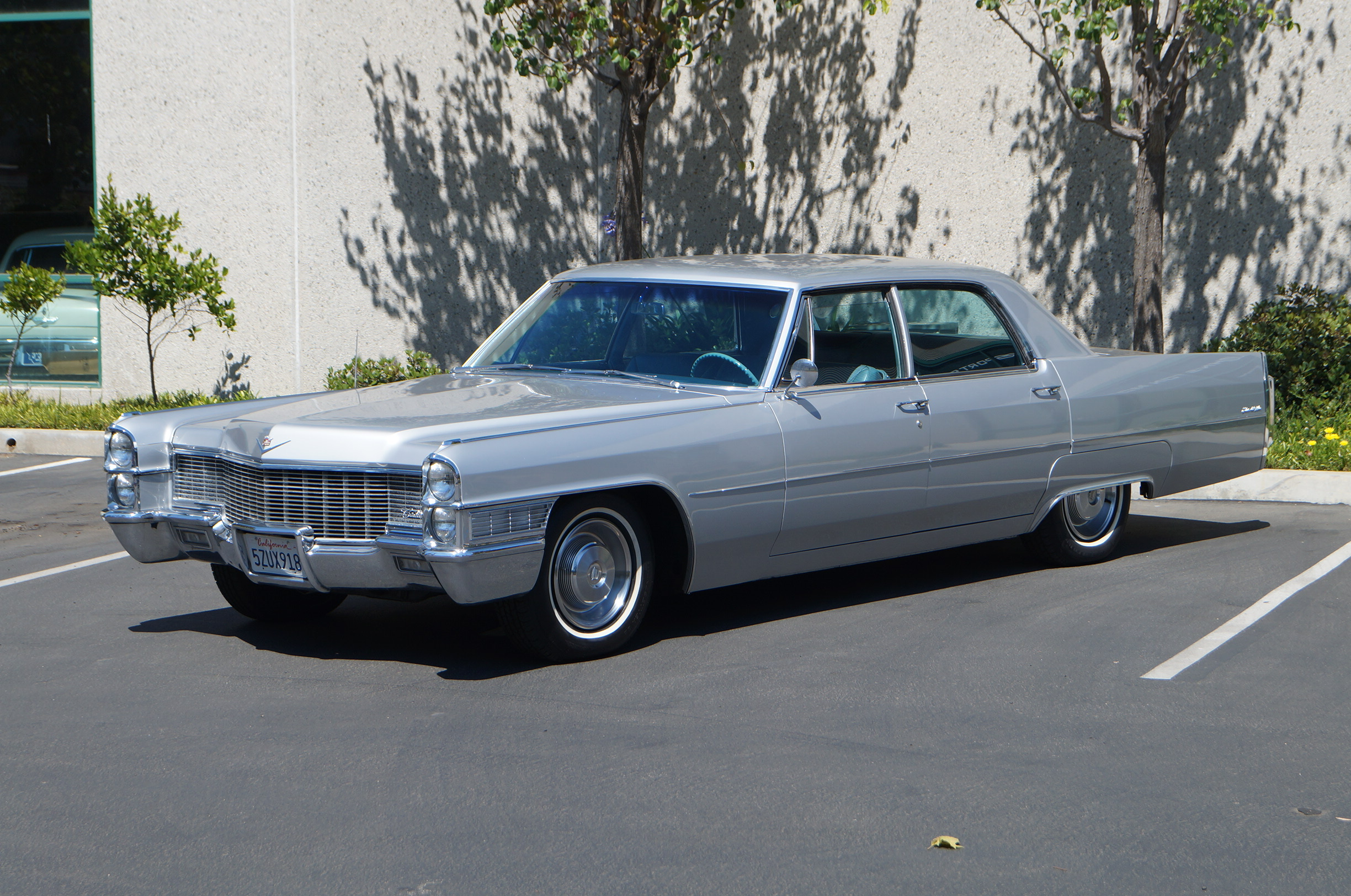 Gray 1965 Cadillac Sedan deVille - Sold at Johnston Motorsports