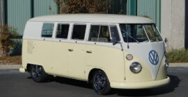 Cream 1966 VW Bus - 11 Window Walkthrough - Sold at Johnston Motorsports