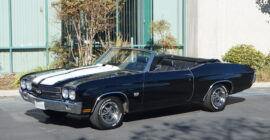 Black 1970 Chevrolet Chevelle - Sold at Johnston Motorsports