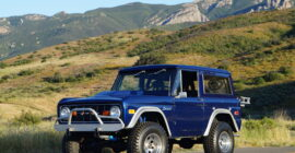 Blue 1974 Ford Bronco - Sold at Johnston Motorsports