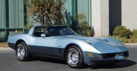 Blue 1982 Chevrolet Corvette - Sold at Johnston Motorsports