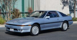 Blue Gray 1988 Toyota Supra - Sold at Johnston Motorsports