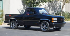 Black 1990 Chevrolet 454SS Pickup Truck