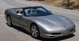 Grey 1998 Chevrolet Corvette Convertible - Sold at Johnston Motorsports