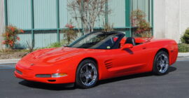 Bright Red 1999 Chevrolet Corvette Convertible