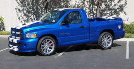 Blue 2004 Dodge Ram SRT-10 Viper Club of America Edition #18 of 50