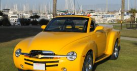 Bright Yellow 2005 Chevrolet SSR