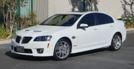 White 2009 Pontiac GXP - Sold at Johnston Motorsports