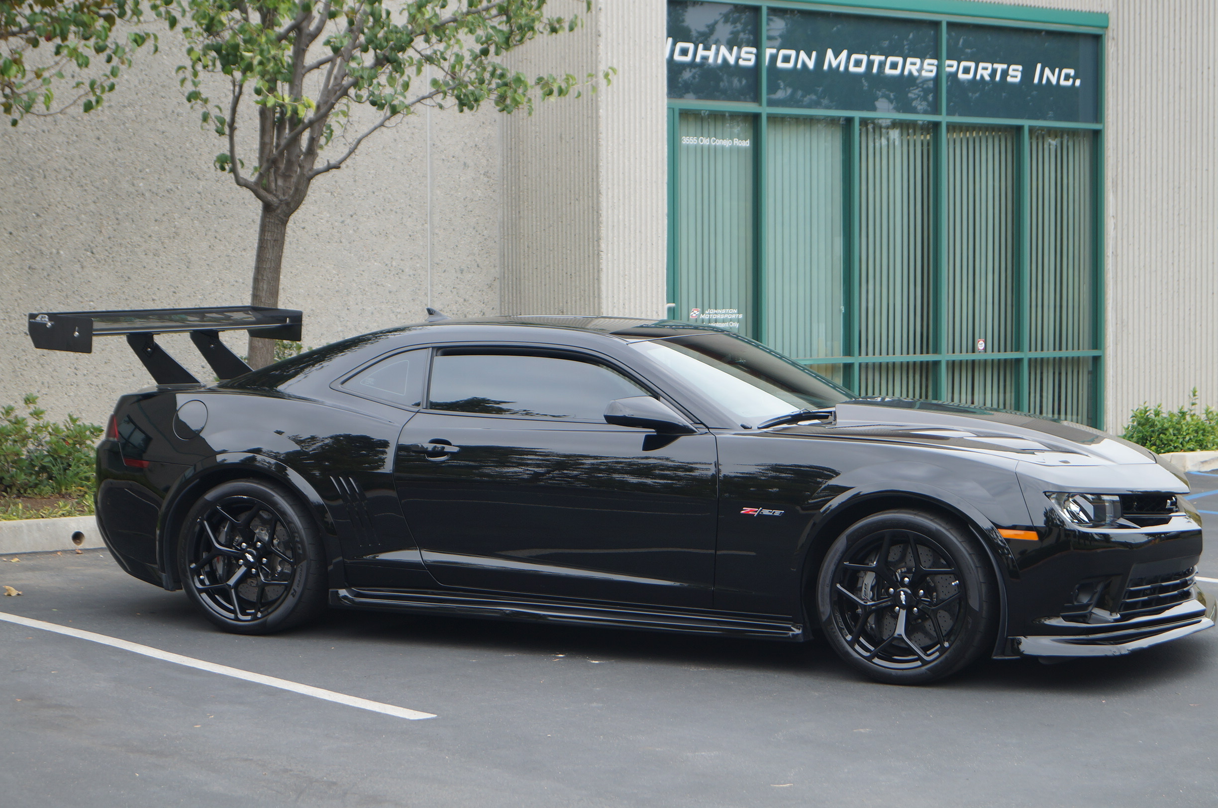 Black 2015 Chevrolet Camaro Z/28
