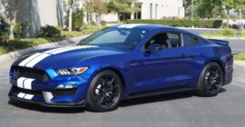 Blue 2016 Ford Shelby GT350 - Sold at Johnston Motorsports