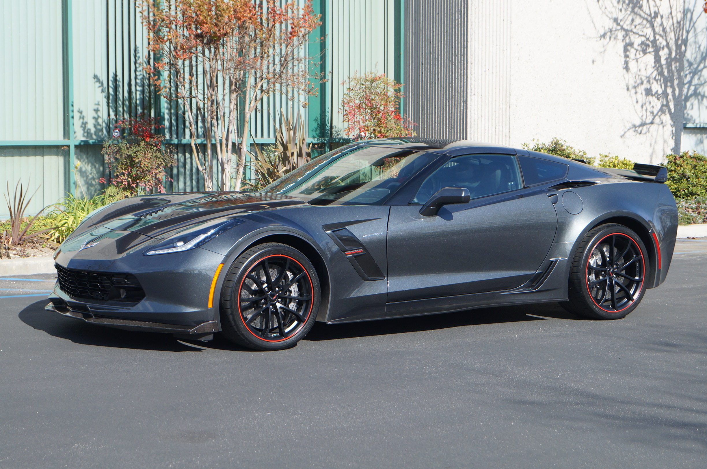Dark Gray 2017 Chevrolet Corvette Grand Sport with 700 HP Lingenfelter Performance Package