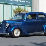 1935 Ford Slantback Coupe Exterior, Johnston Motorsports